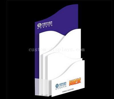 Custom acrylic leaflet stand