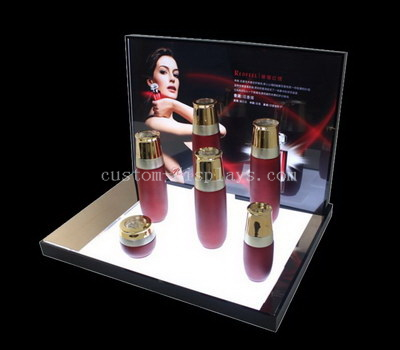 Custom LED cosmetic display stands