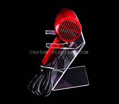 Custom acrylic hair dryer display