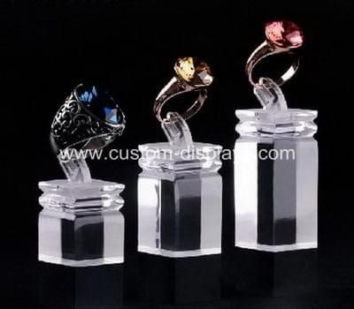 Wholesale acrylic ring display stands