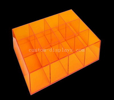 Customize colored acrylic compartment box