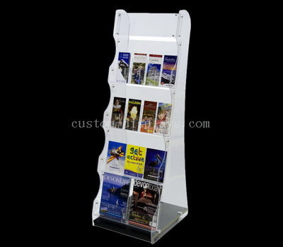 Custom multi tiers brochure holder