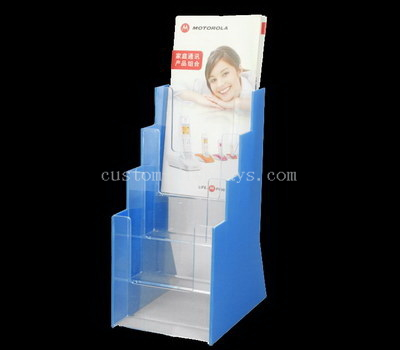 Custom colored acrylic brochure holder