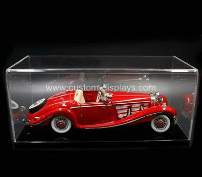 Custom acrylic display box for car model