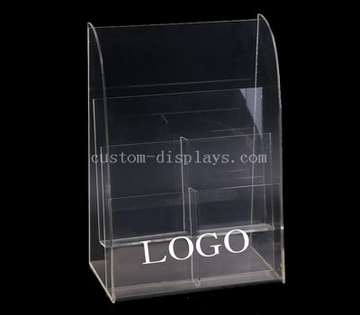 Tiered brochure holder