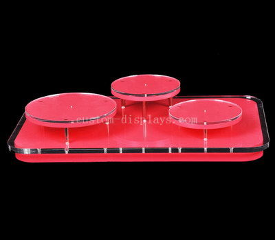 Counter top display stand for cosmetic