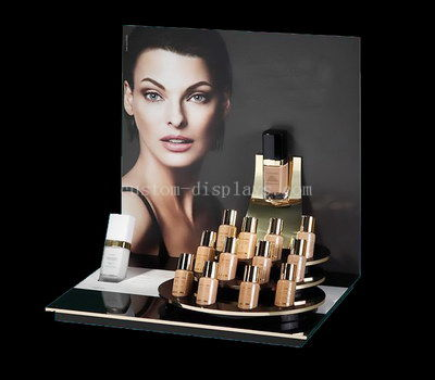 Skincare cosmetic display stand