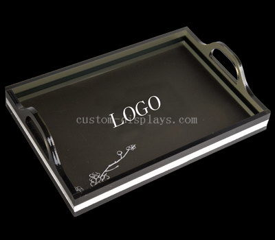 Custom acrylic tray with handle