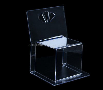 Clear transparent chair