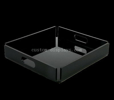 Custom black acrylic tray