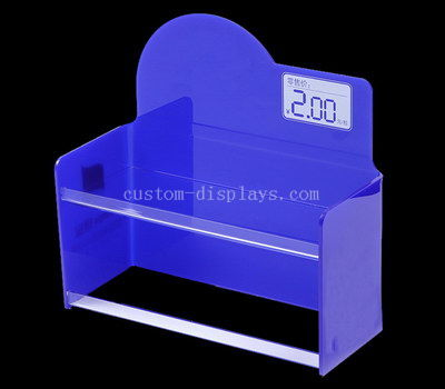 countertop acrylic display rack for snacks