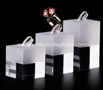 Perspex ring display stand