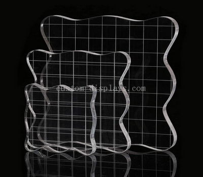 Custom acrylic stamping block