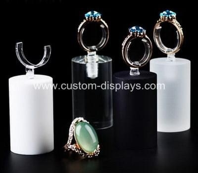 Acrylic ring display holder