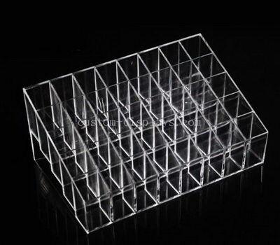Custom clear acrylic compartment box
