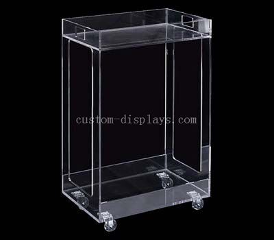 Acrylic trolley cart