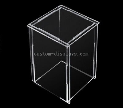 Collapsible acrylic box
