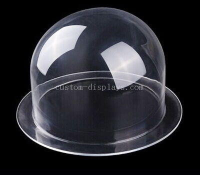 Custom acrylic dome with flange