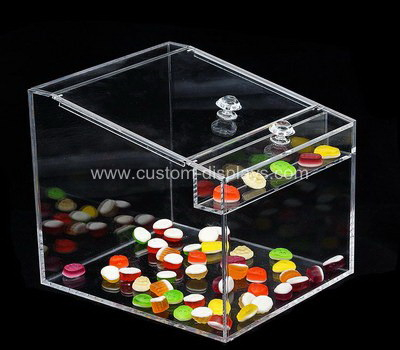 Custom acrylic bulk food bin