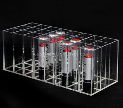 Custom acrylic lipstick holder