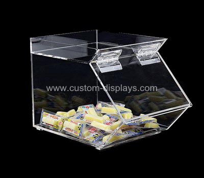 Custom acrylic bulk food bins