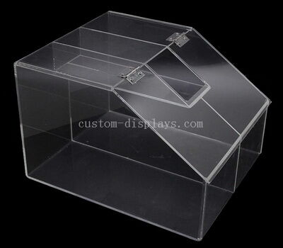 Clear Acrylic Bulk Food Bin With Lid