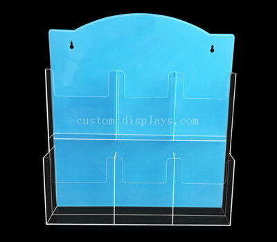 Acrylic pamphlet wall holders