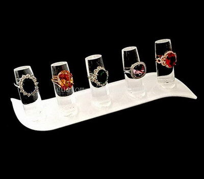Custom finger ring display stands