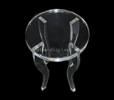 All Clear Modern Acrylic Traditional Side Table