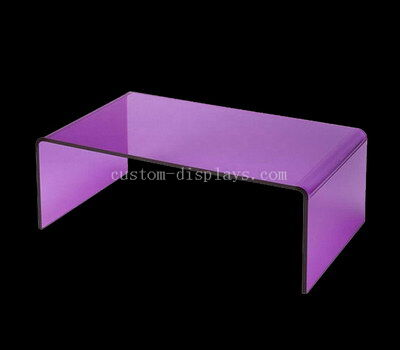 Rectangular acrylic end table wholesale