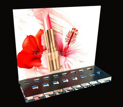 Custom lipgloss display stands
