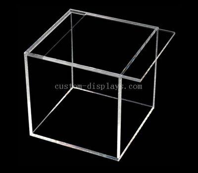 Custom Clear Acrylic Box with Sliding Top