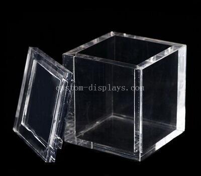 CAB-187-1 Custom acrylic storage boxes with lids