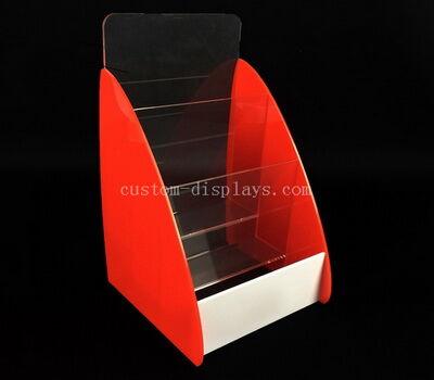 Plastic literature holder