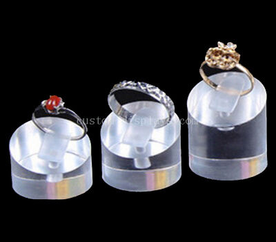 Acrylic rod display stands for rings wholesale