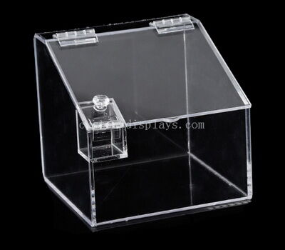 Custom clear acrylic bulk food bin