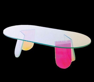Customize multi color acrylic coffee table