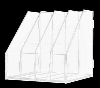 Custom Clear Acrylic Deco Vert Align File Holder
