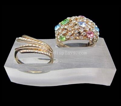 Custom acrylic ring stand
