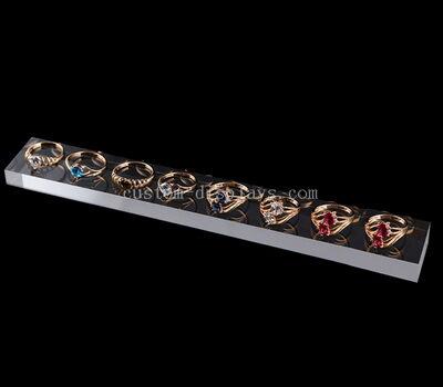 Custom clear acrylic jewelry display blocks