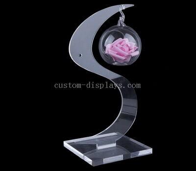 Custom shape clear acrylic crafts decorative for home