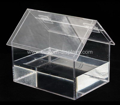 Custom watertight clear acrylic food container box