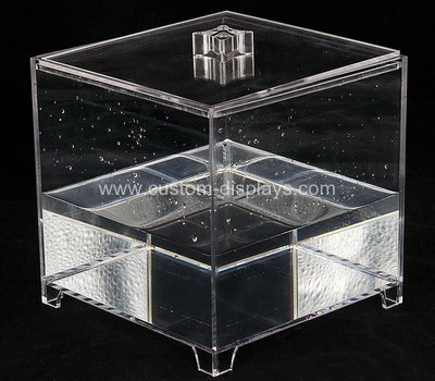 Custom watertight acrylic food containers safe